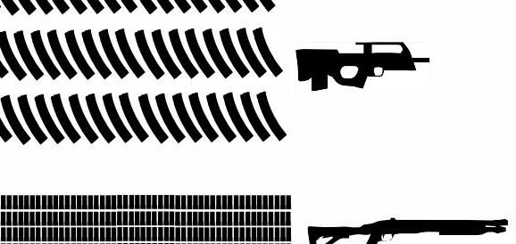 3634 Lbs of Concealed Carry Firepower: GTA V Firearms Visual Breakdown